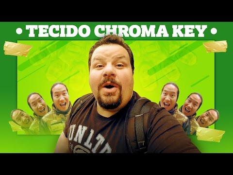 Qual o TECIDO PARA CHROMA KEY? 😎🎬VLOG de Prata #18