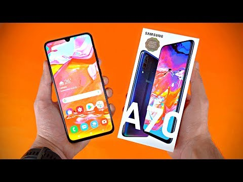 "Samsung Galaxy A70 ""MEGA GALAXY"" - UNBOXING & FIRST LOOK!"