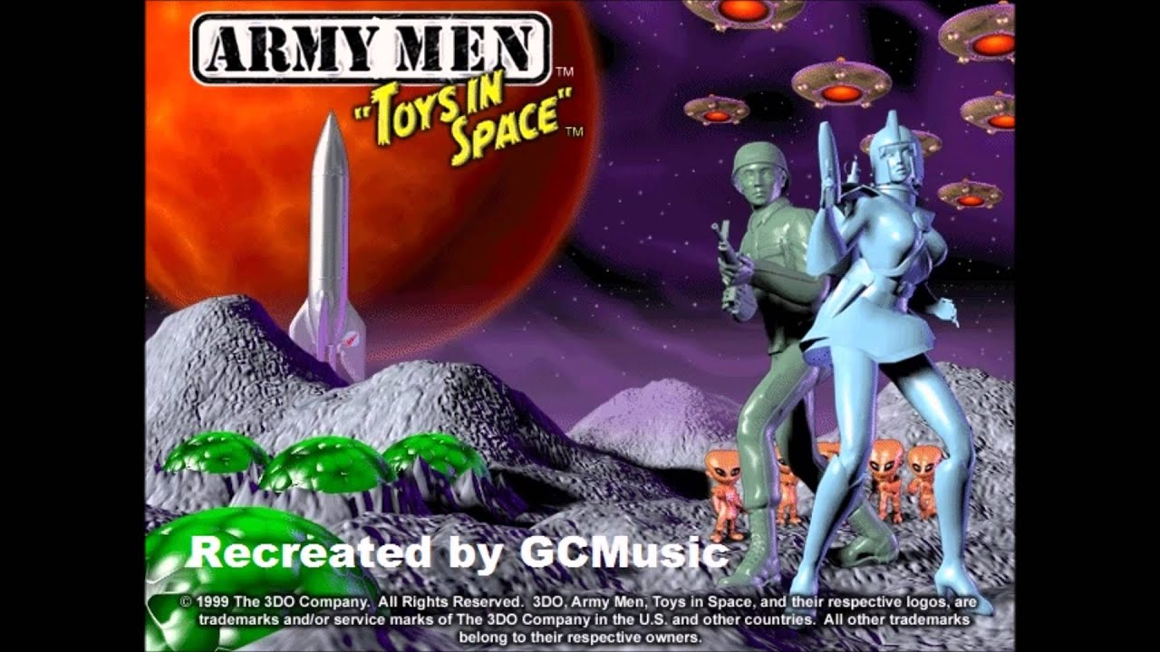 Army Men Toys In Space Theme Song Recreation Youtube