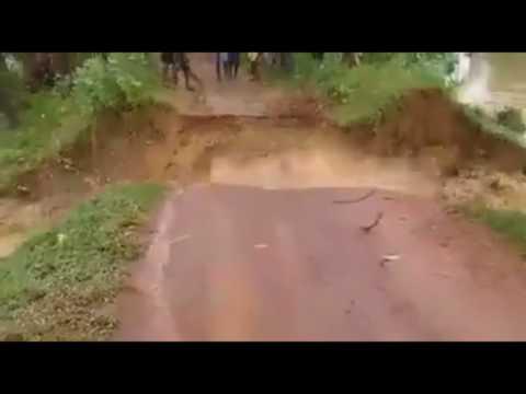 Rriver dam breaking Ghatal Pratappur 2017