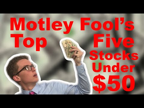 Top 5 Stocks Under $50 Dollars - Motley Fool - Stock Market Investing 101