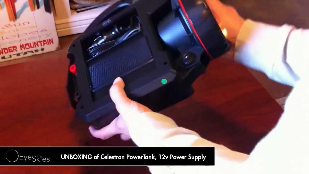 Celestron Powertank 12v Power Supply Youtube
