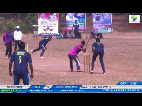 3RD MATCH 2 DAY VENGURLA CRICKET PREMIER LEAGUE 2017 , VENGURLA