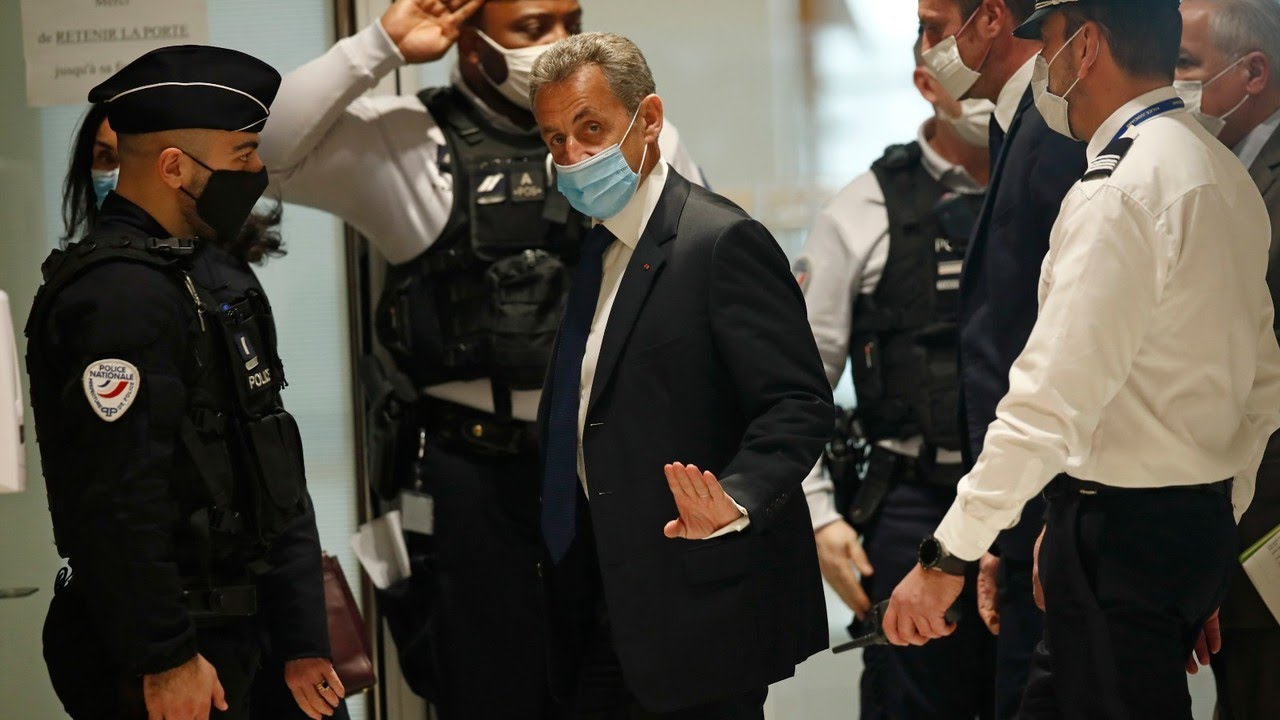 Former French president Sarkozy convicted of corruption and sentenced to prison
