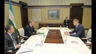 Радий Хабиров встретился с президентом Российской федерации баскетбола Андреем Кириленко