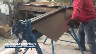 видео Вальцовка листового металла
