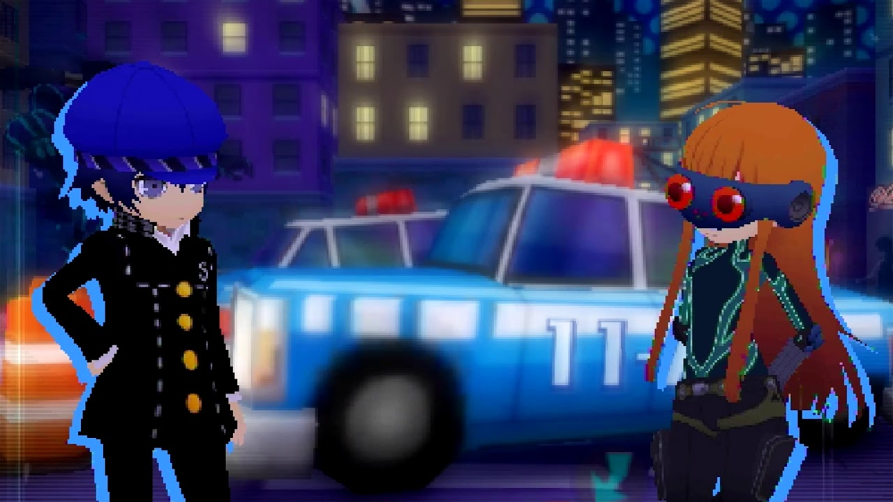 Persona Q2 New Cinema Labyrinth Ticket #3 Officer Imposter!
