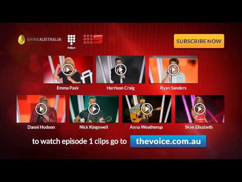 Episode 2 Blind Auditions: The Voice Australia Season 2