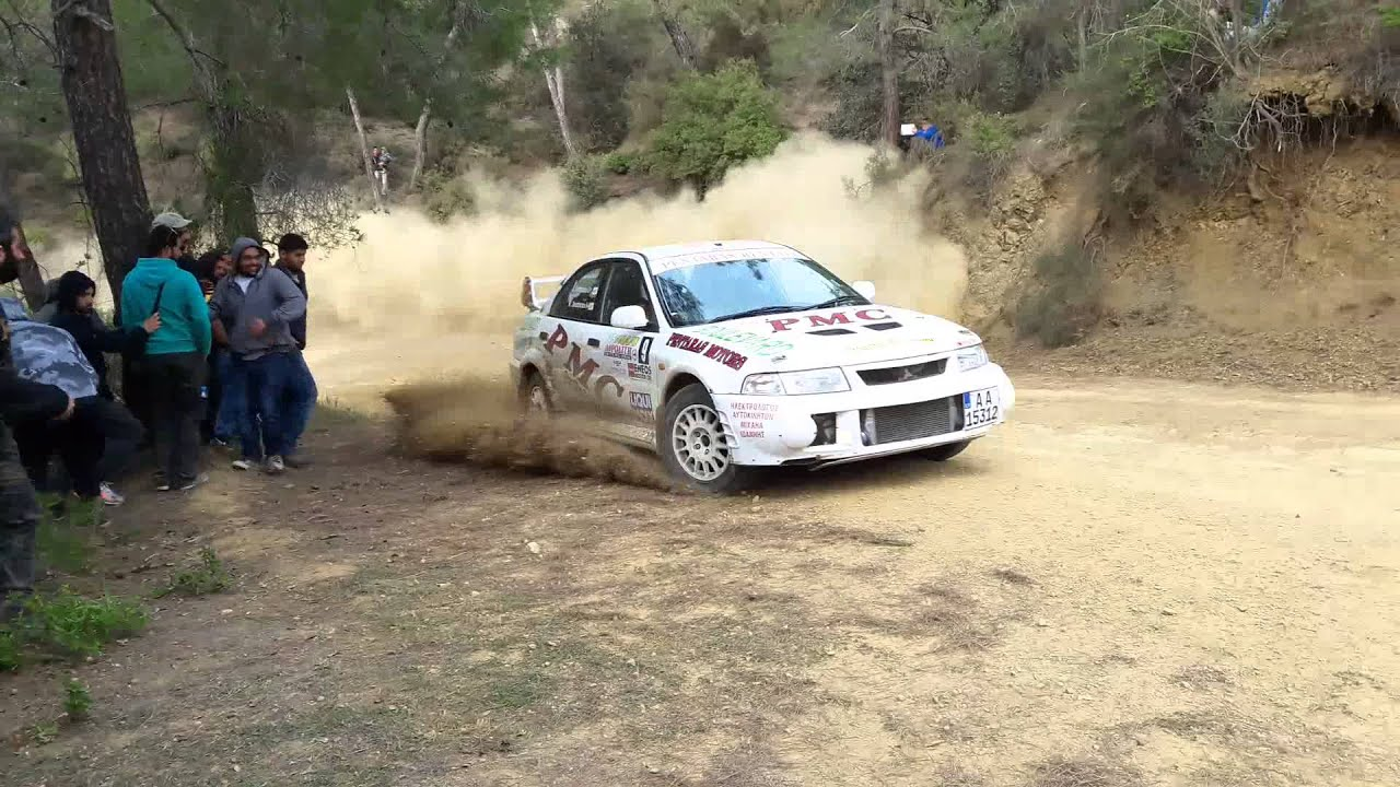 Mitsubishi Lancer Evo 6 Rally Car Youtube