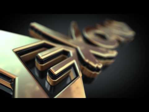 EXOND.net - 3D Gold Logo Intro