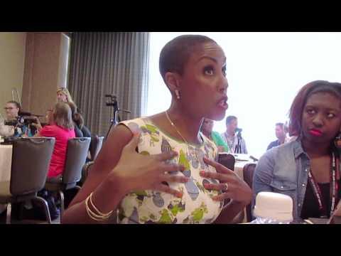 Christine Adams for Black Lightning at SDCC 2017