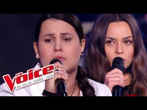 The Voice 2016 | Anahy VS Akasha - Puisque tu pars (Jean-Jacques Goldman) | Battle