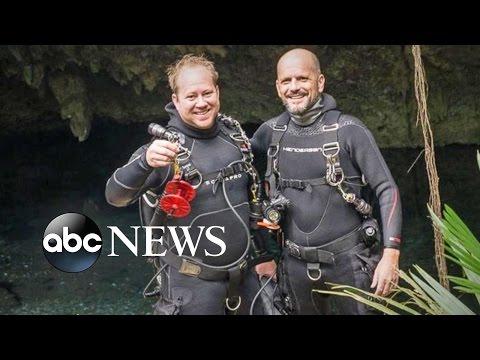 2 Divers Found Dead in Underwater Cave