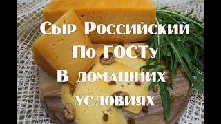 Сыр Российский по ГОСТу в домашних условиях обучающая информация по сыроделию