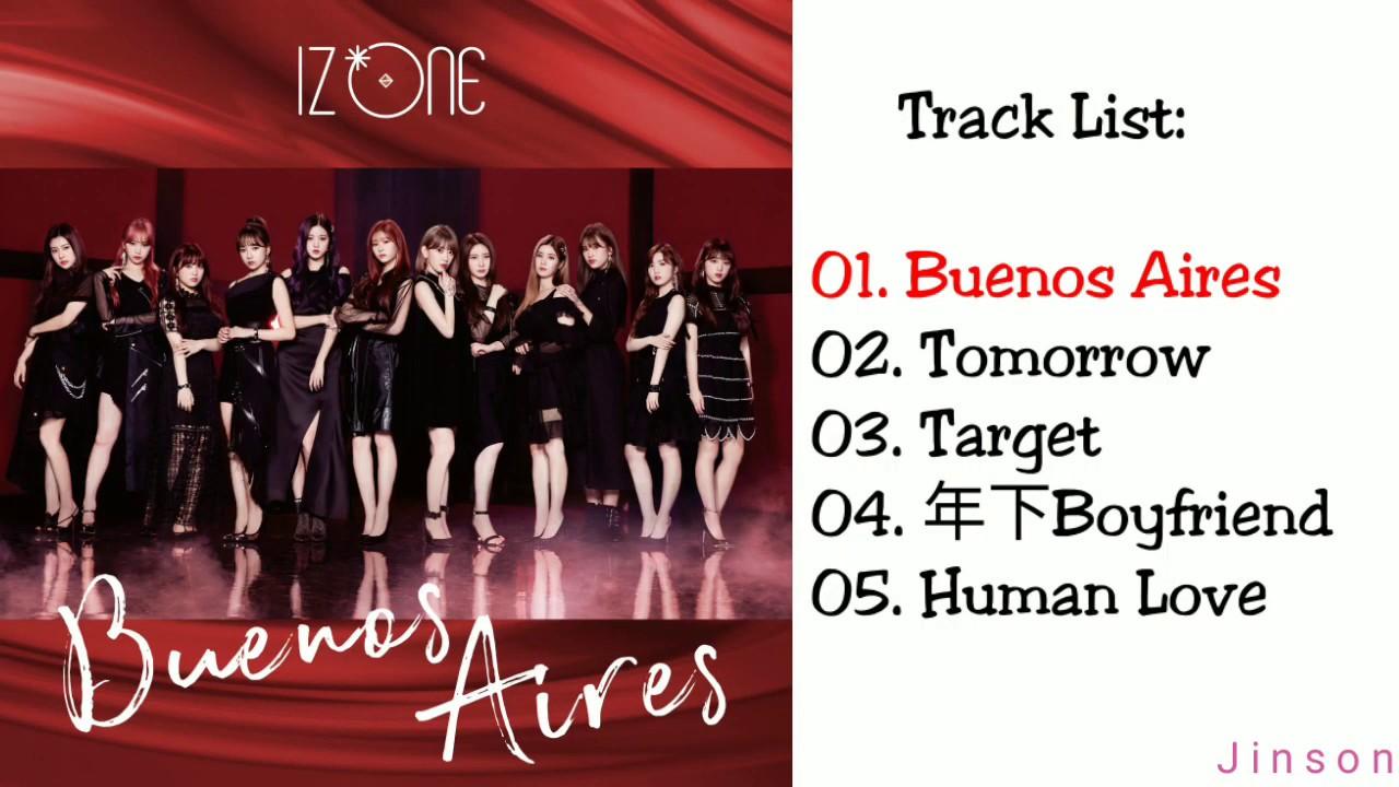 [FULL ALBUM] IZ*ONE - BUENOS AIRES (SPECIAL EDITION) (Japanese)