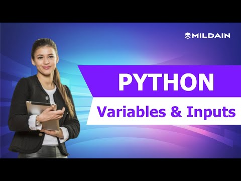 Python Tutorial for Beginners | Variables and Inputs thumbnail
