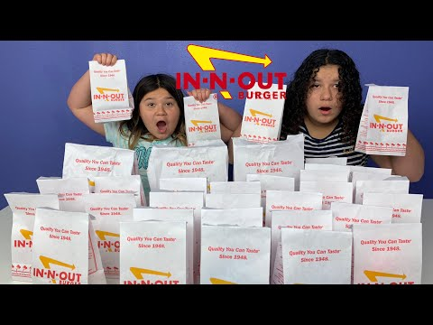 Don't Choose the Wrong IN-N-OUT Burger Slime Challenge