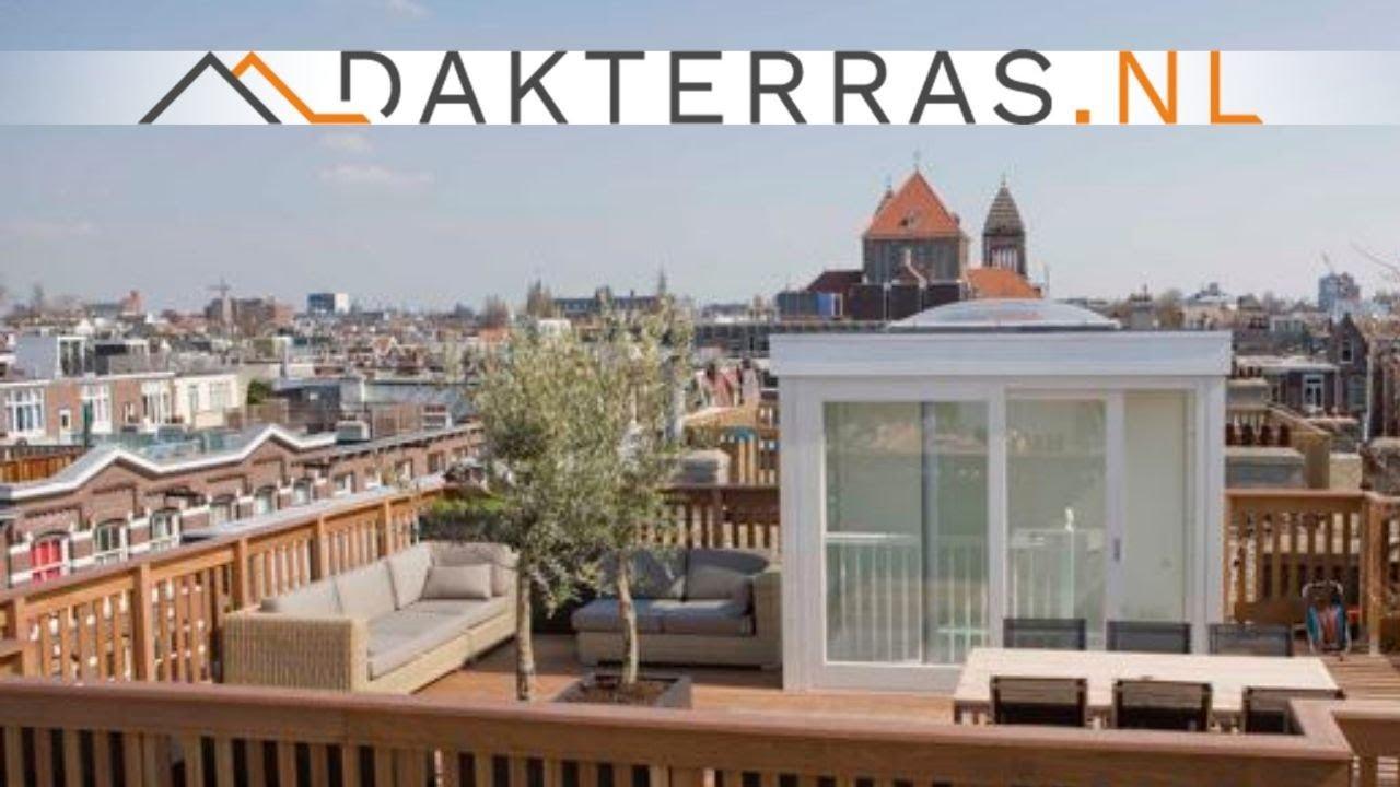 Verbazingwekkend Dakterras met jacuzzi Amsterdam    Dakterras.nl - YouTube YF-37
