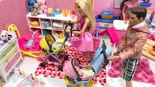 Barbie Babies Strollers Haley Ally Park!!
