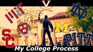 My College Process [with Reactions] (Accepted to 20+ Universities) thumbnail