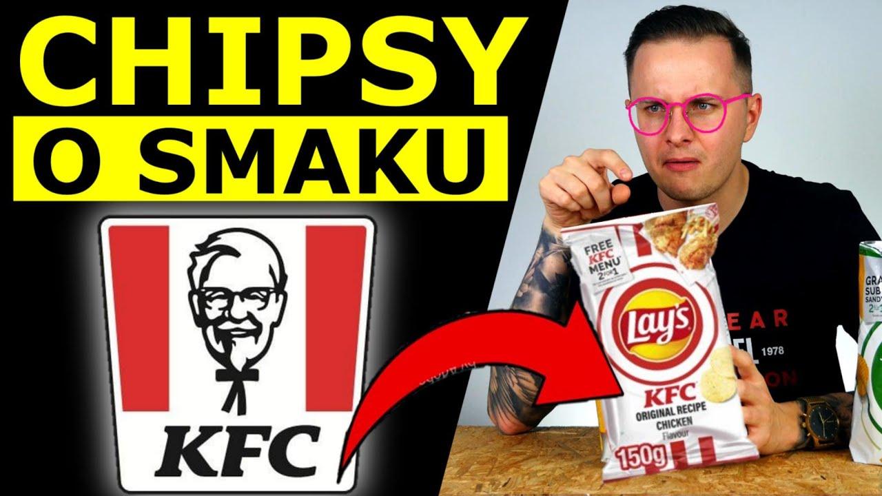 CHIPSY O SMAKU KFC - JAK SMAKUJĄ FASTFOODOWE CHIPSY?!