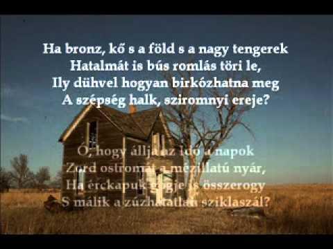 William Shakespeare: LXV. szonett (Latinovits Zoltán)