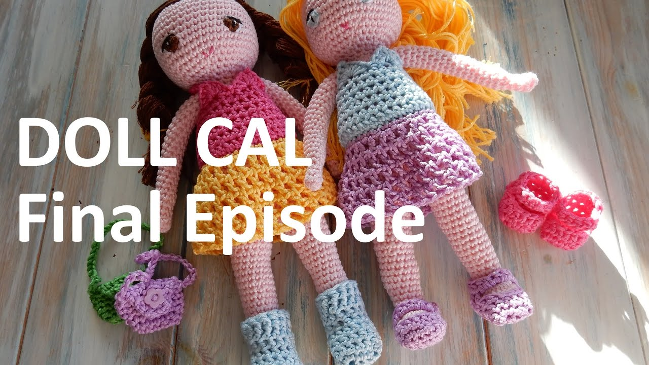 Amigurumi Doll Arms : Crochet amigurumi doll cal final episode youtube