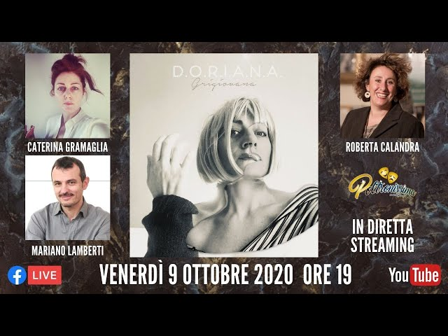 09.10.2020 - Doriana - Ospiti: Caterina Gramaglia, Mariano Lamberti e Roberta Calandra
