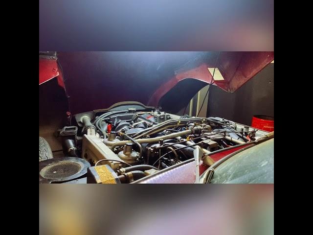 Jaguar Type E série 3 V12 - Engine start