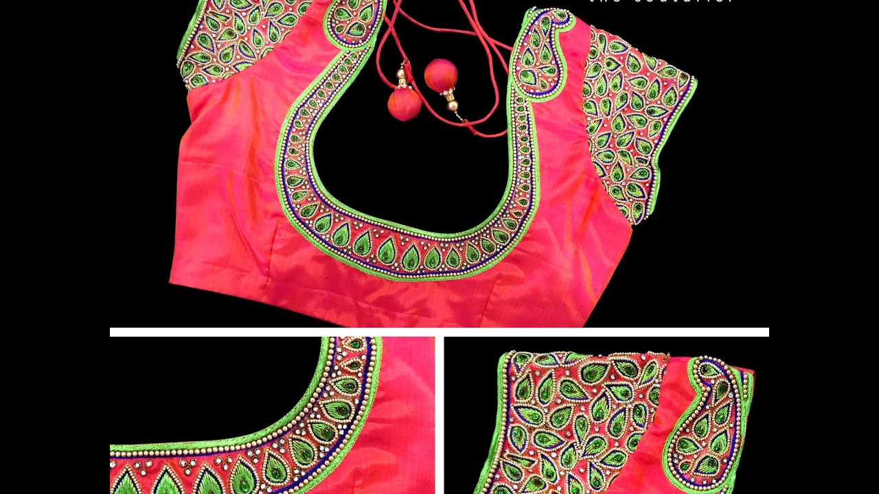 Top 30 Maggam Work Designer Blouses With Price Youtube