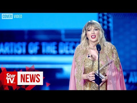 Taylor Swift Breaks Michael Jackson's Records At The American Music Awards 2019