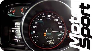Launch Control : Audi R8 V10 Plus 0-300 km/h (Motorsport)