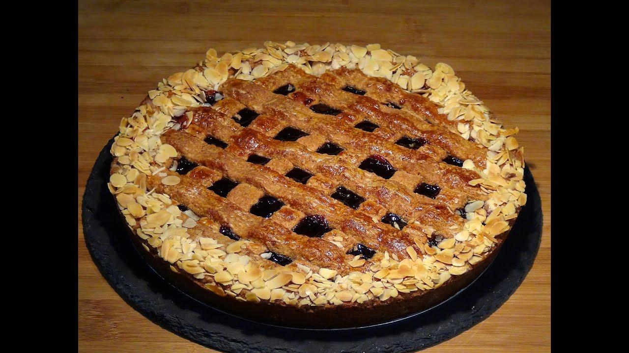 Receta Tarta Linzer o Linzer Torte - Recetas de cocina, paso a paso, tutorial