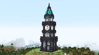 Как построить башню в майнкрафте