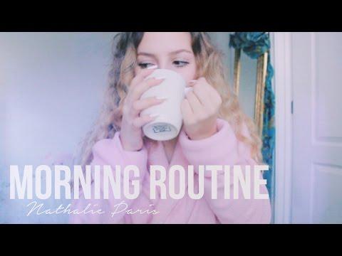 MORNING ROUTINE ♡ Nathalie Paris