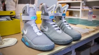 Back to the Future 2 Nike Air Mag Replicas!