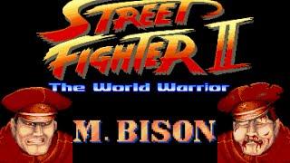 Street Fighter II World Warrior - M.Bison