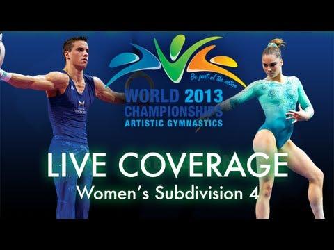 Women's Qualifying - Subdivision 4 - 2013 World Championships