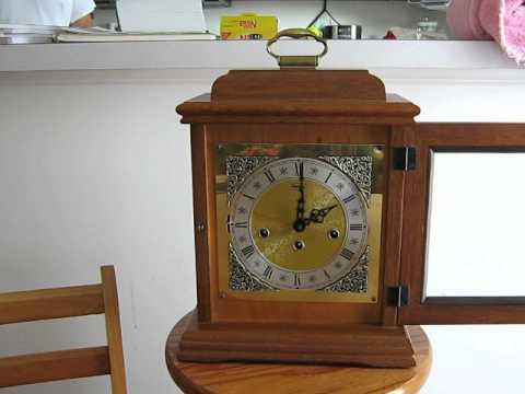 ridgeway mantle clock youtube. Black Bedroom Furniture Sets. Home Design Ideas