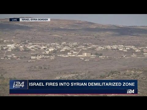 Israel fires into Syrian demilitarized zone, Syria continues to build in this area.
