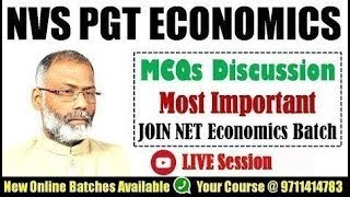 PGT Economics | Discussion On Market  By Hare Ram Sinha Sir