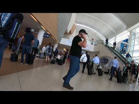 San Jose International Airport Complete Tour (SJC) -- Departure And Arrival