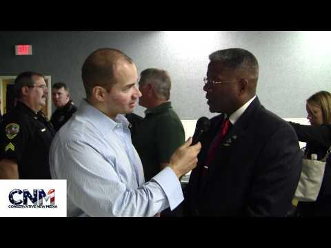 Congressman Allen West interview by John D. Villarreal of Conservative New Media