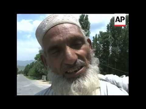 Pakistani military relaxes curfew in parts of the Swat Valley