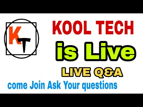 Come Kool Tech is Live ,Ask Question