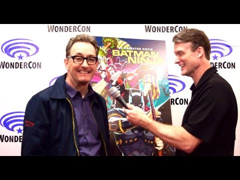 Tom Kenny Interview at Batman Ninja Premiere at WonderCon