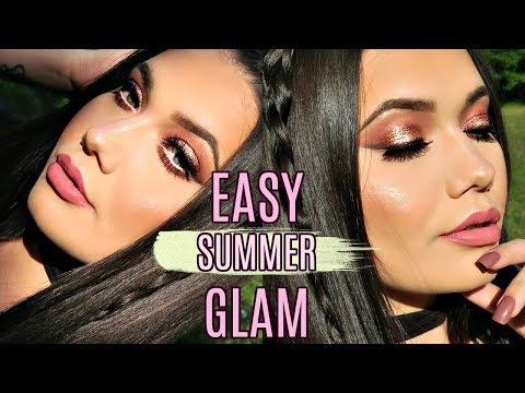 NEW Makeup I'm ACTUALLY Excited About | Full Face Summer Glam Makeup Tutorial