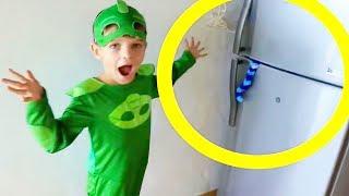 PJ Masks CATBOY DISAPPEARS & Gekko & Catboy Play Hide N Seek!