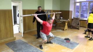 3 часть средней тренировки Михаила Кокляева и Алексея Серебрякова 07.03.2014