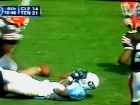 Eddie George gets Smacked by Robert Griffith 2002